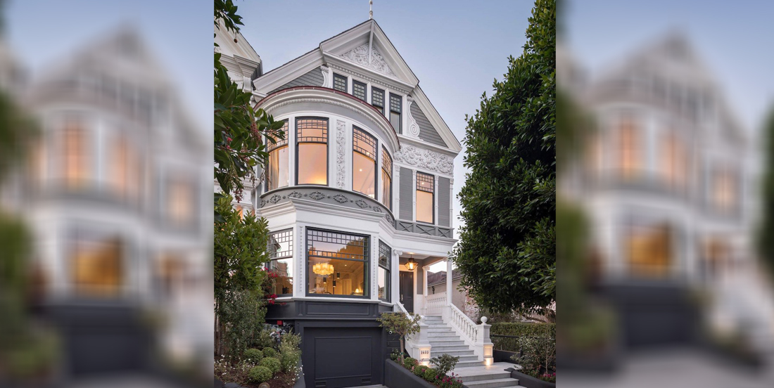 c.1889 Queen Anne Victorian by Architect Samuel Newsom lists in San Francisco for $20M (PHOTOS)