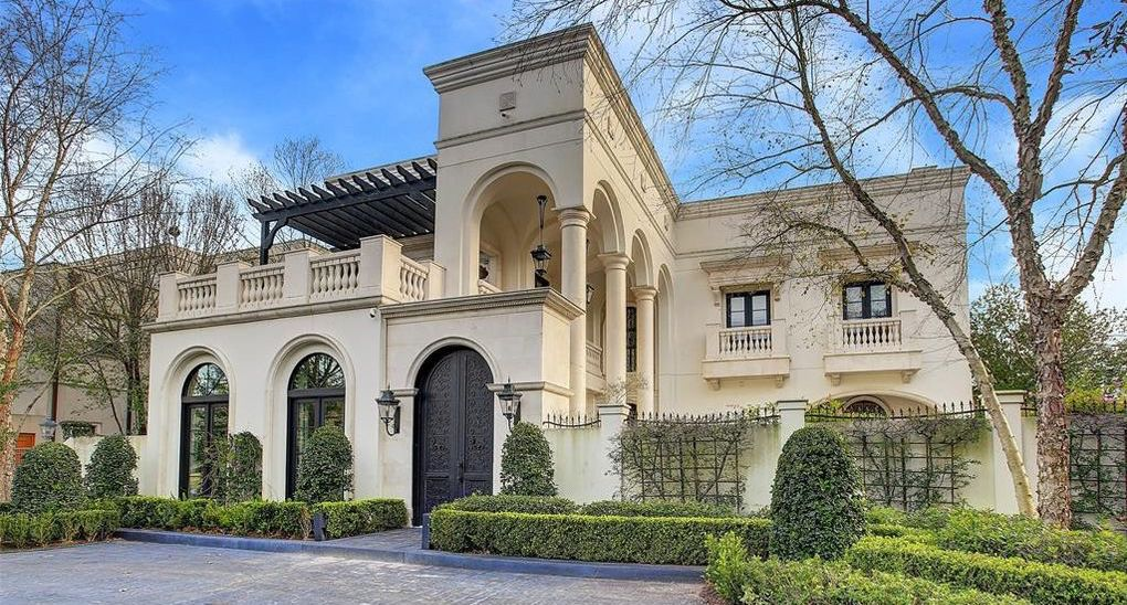 15,300 Sq. Ft. Palladian Manor in River Oaks for $4.8M (PHOTOS)