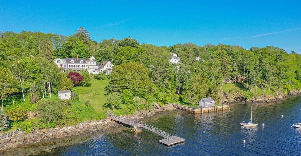 c.1880 Rockport Harbor Sea Captain's Cottage asks $3.5M in Maine (PHOTOS)
