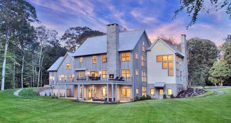 New Colonial Farmhouse in Westport, CT Reduced to $3.6M (PHOTOS)