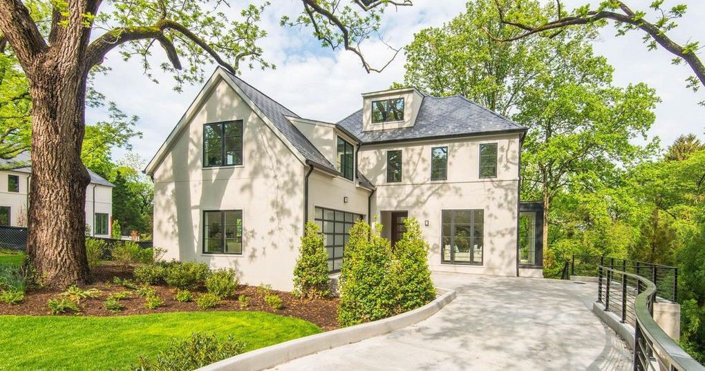 Brand New Transitional Home Designed by GTM Architects in Washington, D.C. asks $4.85M (PHOTOS)