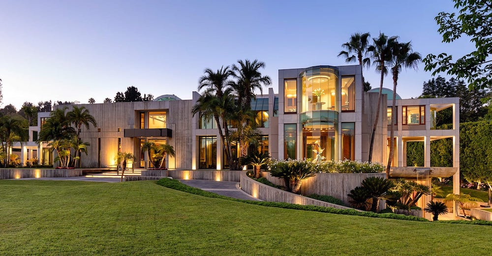 The Glazer Estate in Beverly Hills Reduced to $70M (PHOTOS)