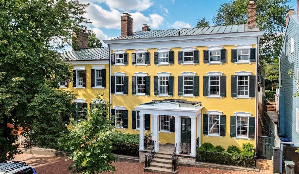 Empty Federal Style Mansion lists in Georgetown for $12.8M (PHOTOS)