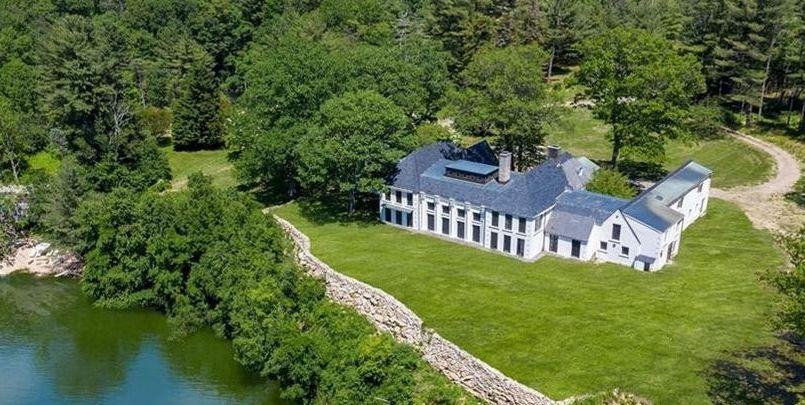 Gutted 1930s Lakefront Mansion Takes 50% Price Cut in West Harrison, NY (PHOTOS)