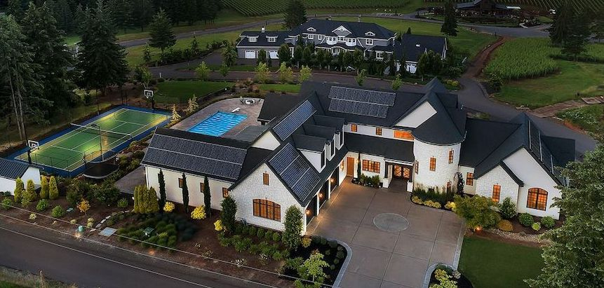 Tumwater Reserve Residence lists in West Linn, OR for $4.35M (PHOTOS)