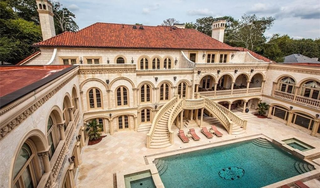 Furnished $25M Atlanta Mansion Drops to $9.8M After a Decade on the Market (PHOTOS)