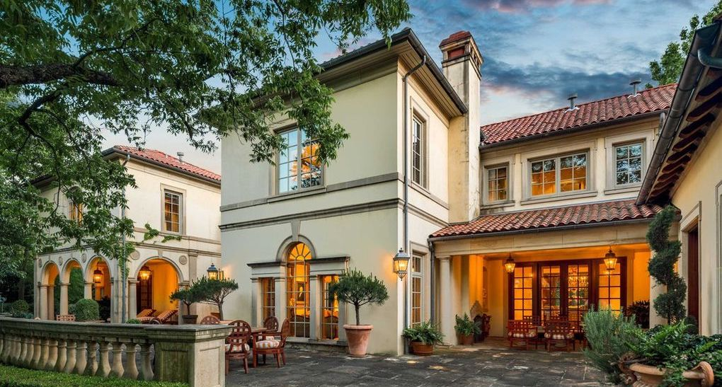 $19.5M Richard Drummond Davis Designed Mediterranean Home in Highland Park, TX (PHOTOS)