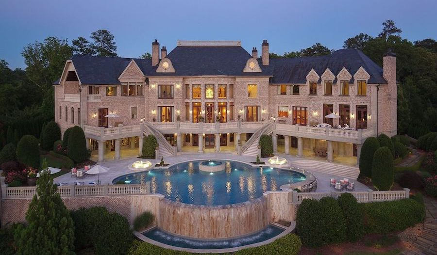 Steve Harvey Buys Tyler Perry's Former 34,688 Sq. Ft. Atlanta Mansion for $15M (PHOTOS)