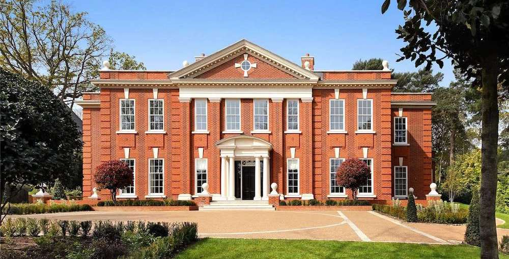 Newly Built Grosvenor House lists in St George's Hill for £14.5M (PHOTOS)