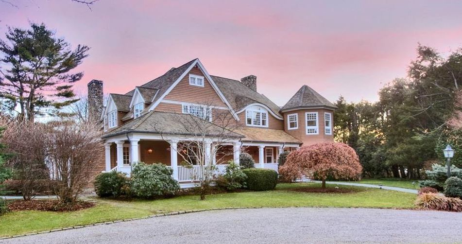 Shingle Style Retreat by Architect Laurent DuPont Reduced to $6M (PHOTOS)