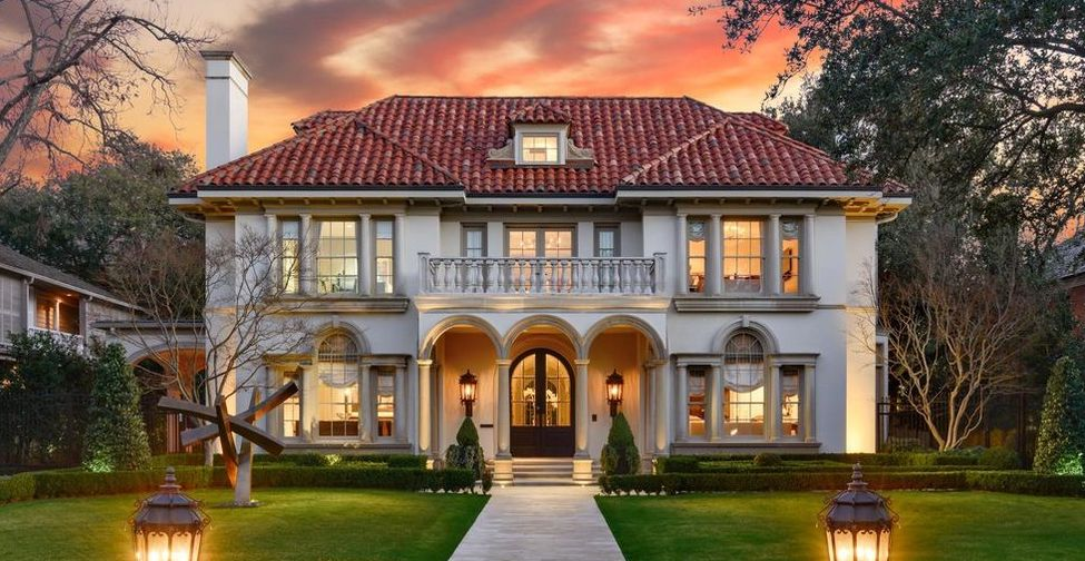 Turnkey Italian Renaissance Dream Home Pending Sale in Highland Park, TX (PHOTOS)