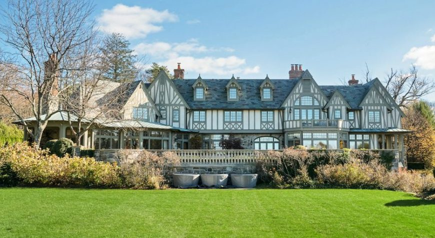 European Inspired English Tudor Manor Reduced to $18M in Kings Point, NY (PHOTOS)