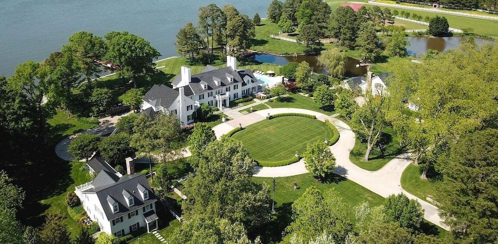36 Acre Miles River Estate with 1,800′ Grass Runway Asks $15.5M in Easton, MD (PHOTOS)