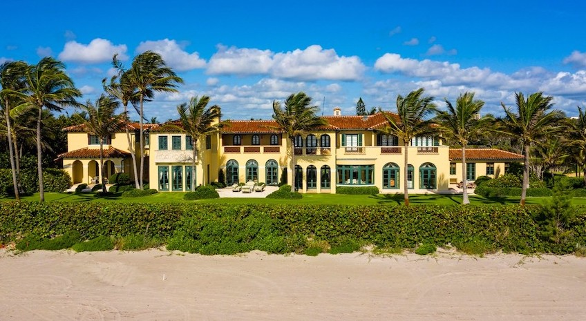 $80M Oceanfront Compound is Third-Largest in Palm Beach (PHOTOS)