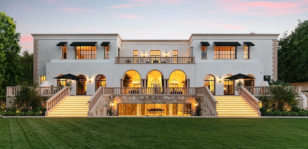 Remodelled 31,000 Sq. Ft. Holmby Hills Mansion Reduced to $70M (PHOTOS)