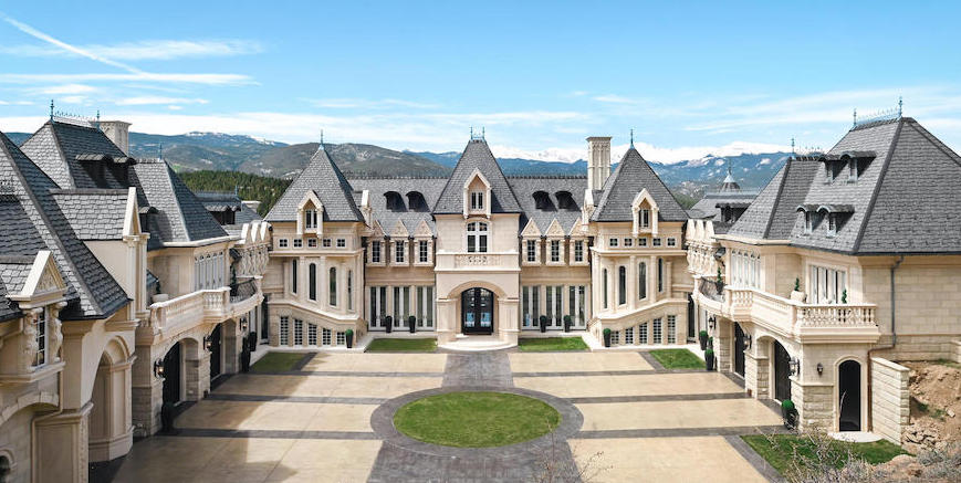 Biltmore-Inspired Château V in Evergreen, CO Reduced to $12.5M (PHOTOS)