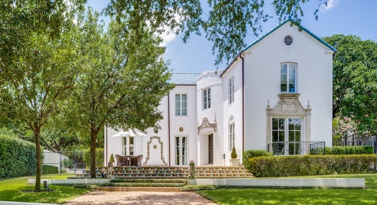 Remodelled 1930s Traditional lists in Turtle Creek for $3.8M (PHOTOS)