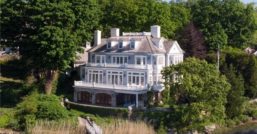 Late CEO of General Electric's Colonial Summer Home lists in Fairfield, CT for $8.7M (PHOTOS)