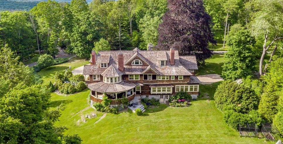 "Gilded Age Summer Cottage ""Rock Gate"" by Architect Ehrick Rossiter Reduced to $5.7M (PHOTOS)"