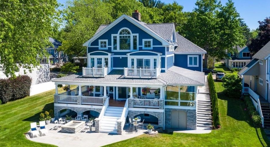 Remodelled 1930s Lake Macatawa Cottage lists in Holland, MI for $2.5M (PHOTOS)