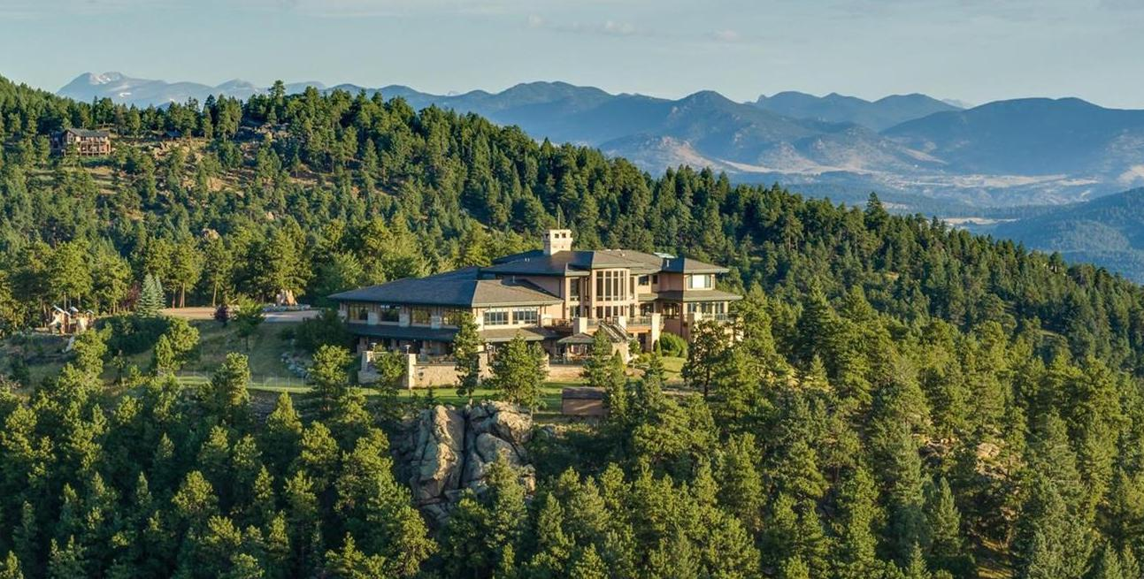 74 Acre Colorado Mountaintop Estate includes 27,000 Sq. Ft. Car Museum for $20M (PHOTOS)