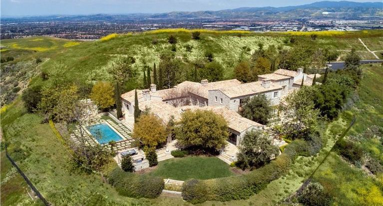 French-Inspired Shady Canyon Villa Sells in Irvine, CA for $15.1M (PHOTOS)