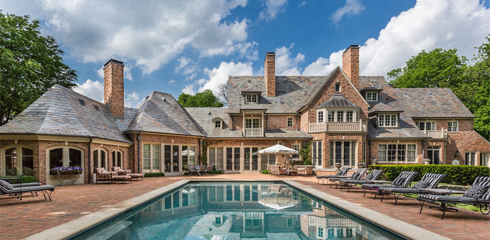 Expanded 1930s Brick Mansion in Indianapolis Sells for $4M (PHOTOS)