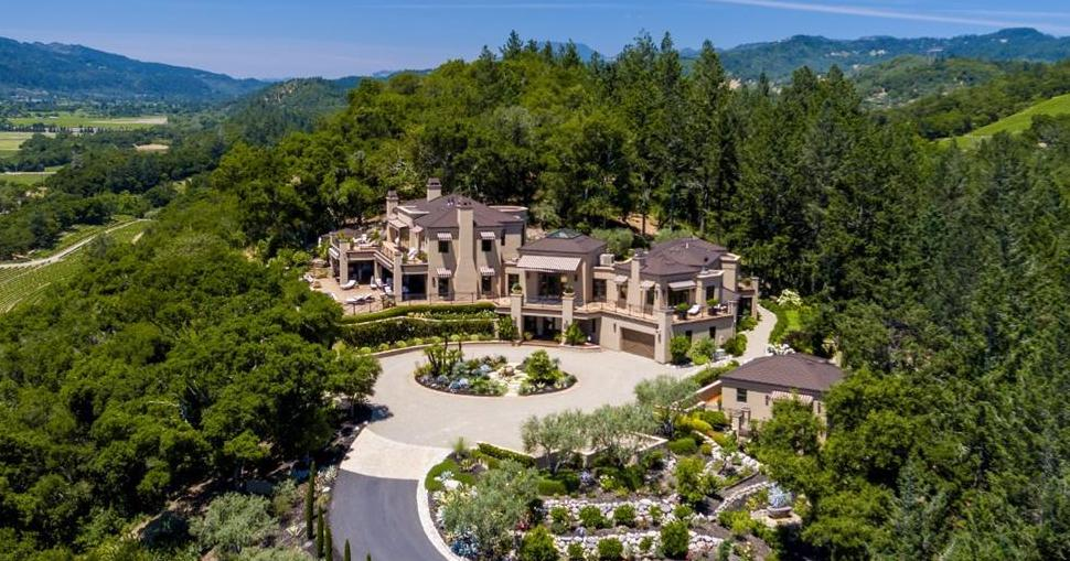 21 Acre Napa Valley Estate with 13,000 Sq. Ft. Main House Reduced to $18.8M (PHOTOS)