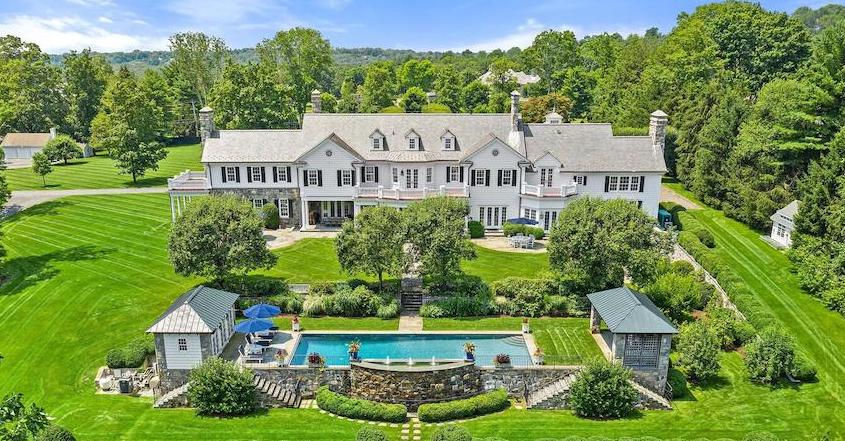 Expanded Former Tommy Hilfiger Estate Asks $25.5M in Greenwich, Connecticut - Pricey Pads